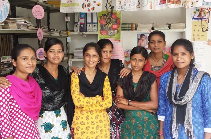 Manjari's Education volunteers